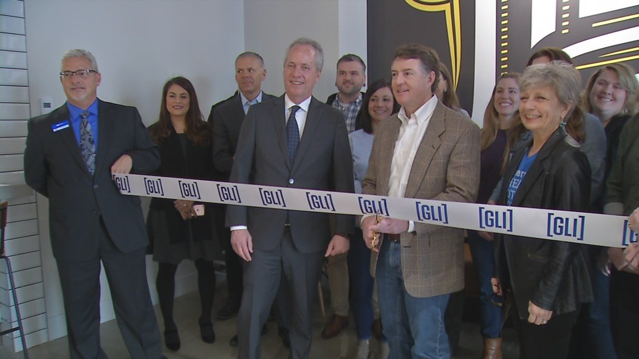A ribbon cutting was held March 10, 2018 for the new Heine Brothers' hotel inside the Omni Louisville Hotel.