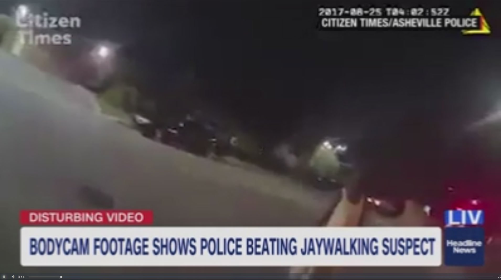 North Carolina Cop Resigns After Beating, Choking, And Tasing Suspected Jaywalker