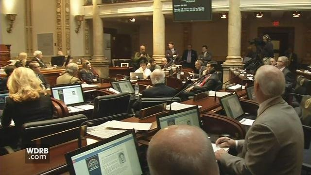Lawmakers in Kentucky's Senate have postponed a vote on a controversial pension bill.