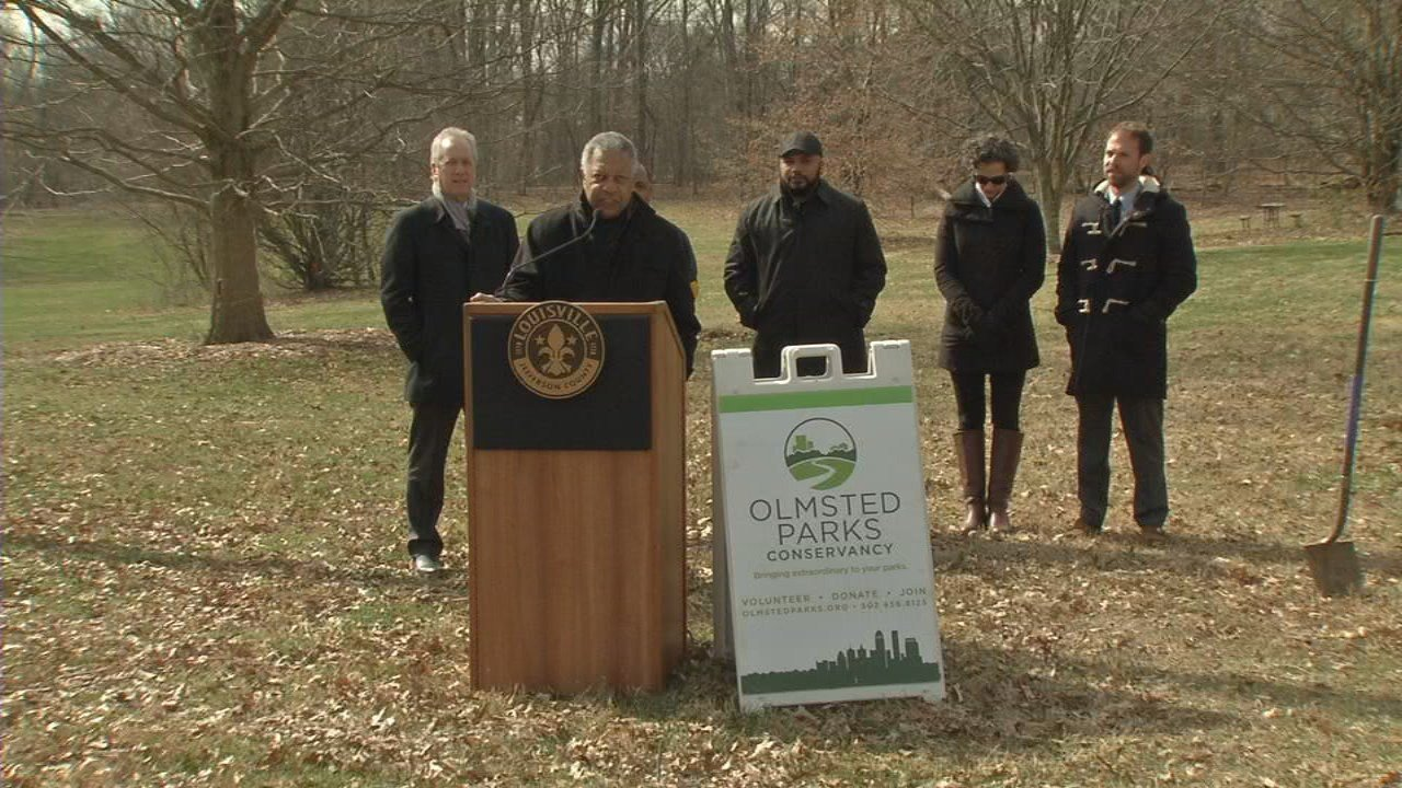 On March 9, 2018, city officials announce a $1.1 million project to revitalize a popular area of Louisville's Cherokee Park.