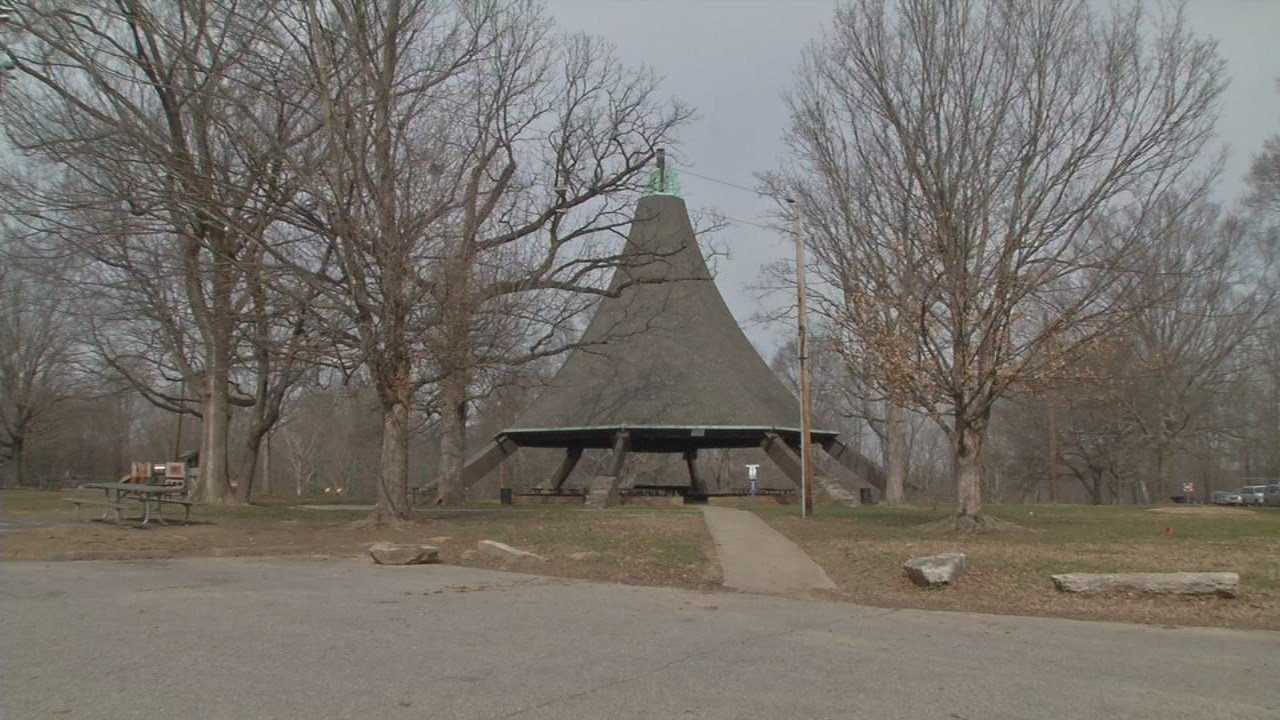 Cherokee Park's iconic McCall Shelter will not be moved during a $1.1 million restoration project in Louisville's Cherokee Park.