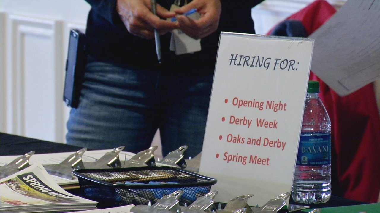 The track, along with its vendor partners, are looking for candidate to fill various positions during Derby Week and the 38-day Spring Meet, which begins Saturday, April 28 and runs through Saturday, June 30.