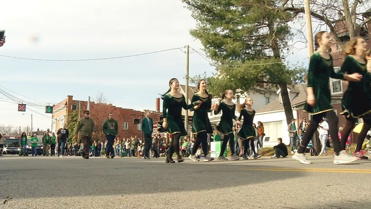 Irish dancers, bagpipe players, floats, beads, and plenty of green filled the street.