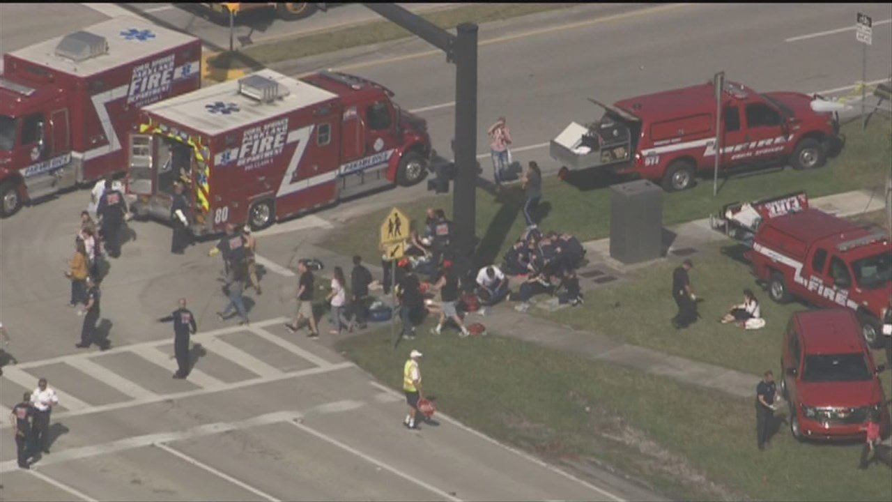Wednesday marks one month since the shooting at Marjory Stoneman Douglas High School in Parkland, Florida which left 17 people dead and several others injured.