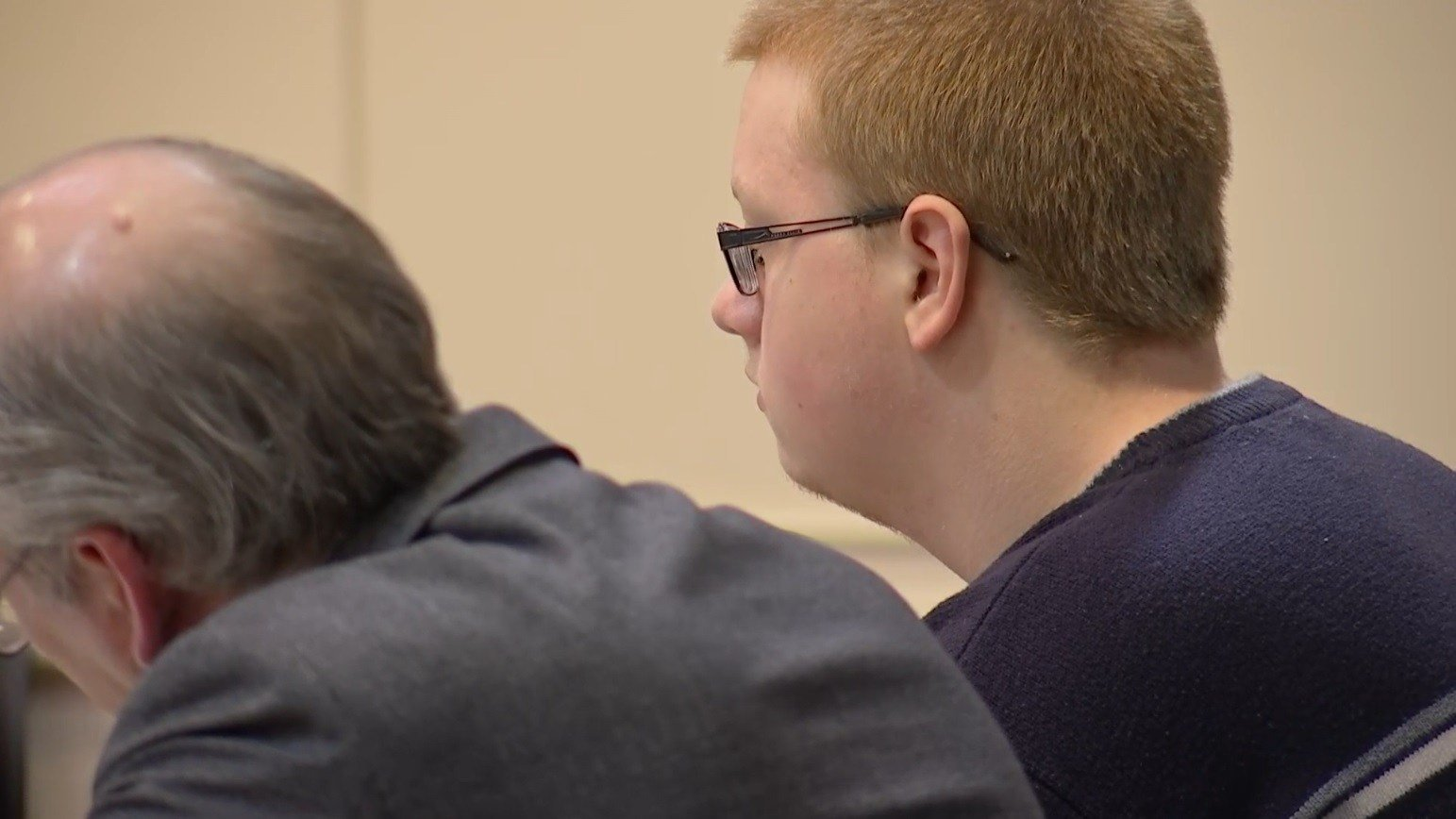 Accused Marshall County High School shooter Gabe Parker in court on March 12, 2018
