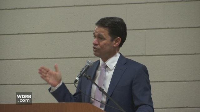 JCPS Superintendent Dr. Marty Pollio told middle and high school students taking part in a lifestyle choices forum at UofL that they need to take ownership of their own success.