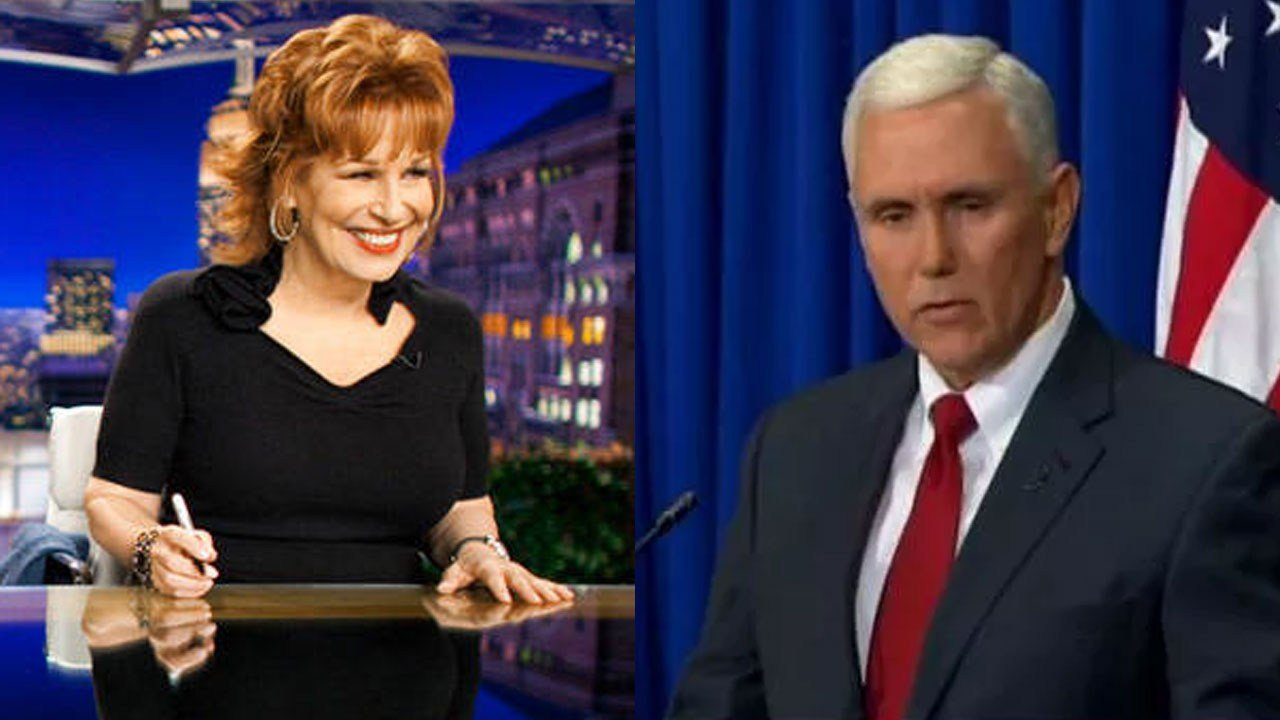 Joy Behar Apologizes: 'I Think Vice President Pence Is Right'