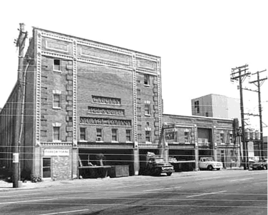 Undated photo of the Grocers Ice building (courtesy Denton Floyd Real Estate)