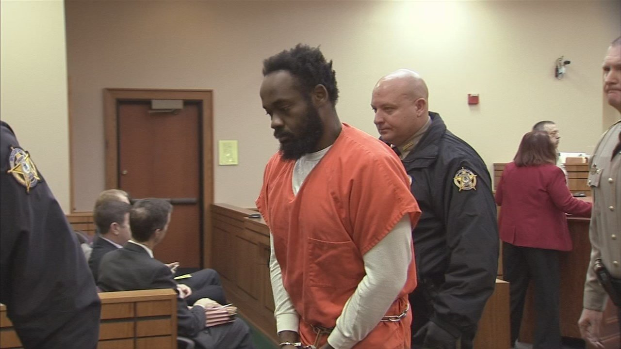 Ronald Exantus is accused of stabbing Logan Tipton to death while the child slept in his Versailles, Ky. home in 2015.