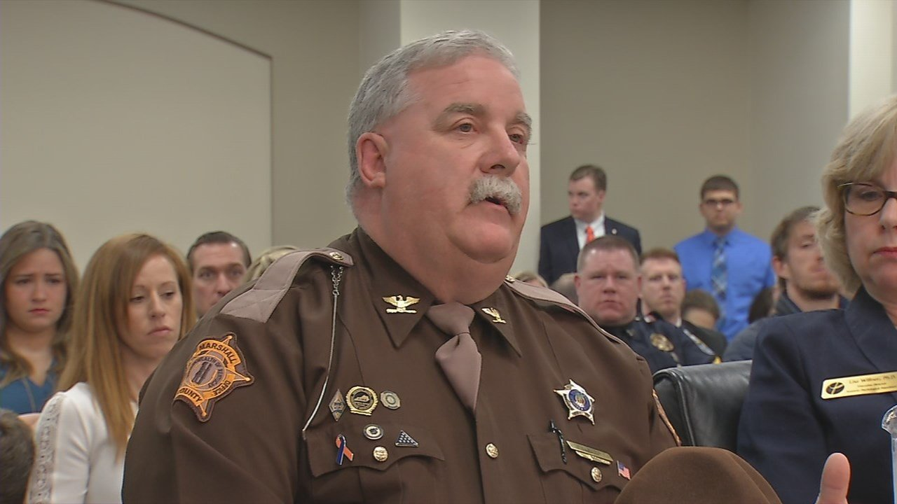 Marshall Count Sheriff Kevin Byars