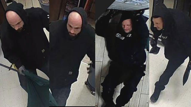 The Louisville Metro Police Department is asking for the public's help to identify suspects the department says are responsible for a number of burglaries in the Dixie Highway area.