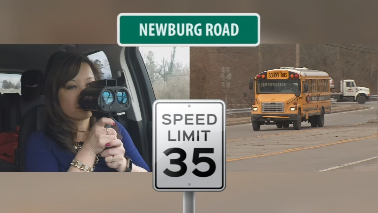 Are school bus drivers driving too fast?