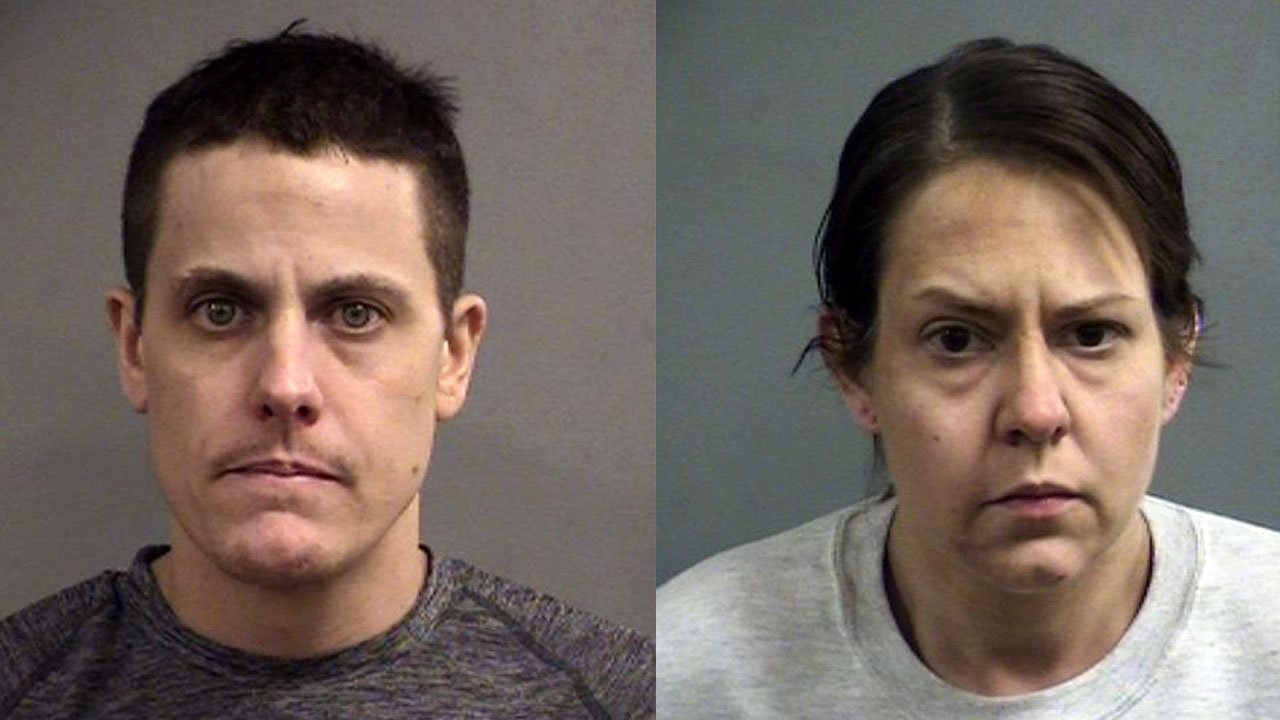 37-year-old Bryan Bishop and 40-year-old Katherine Spencer (Source: Louisville Metro Corrections)