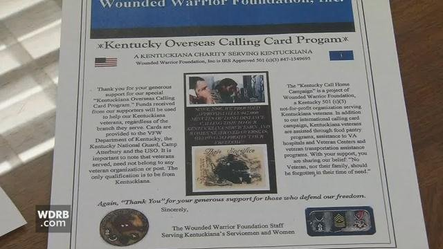 Prosecutors say the suspects stolemore than $125,000 from people who falsely believed they were making legitimate donations to theWounded Warrior Project.