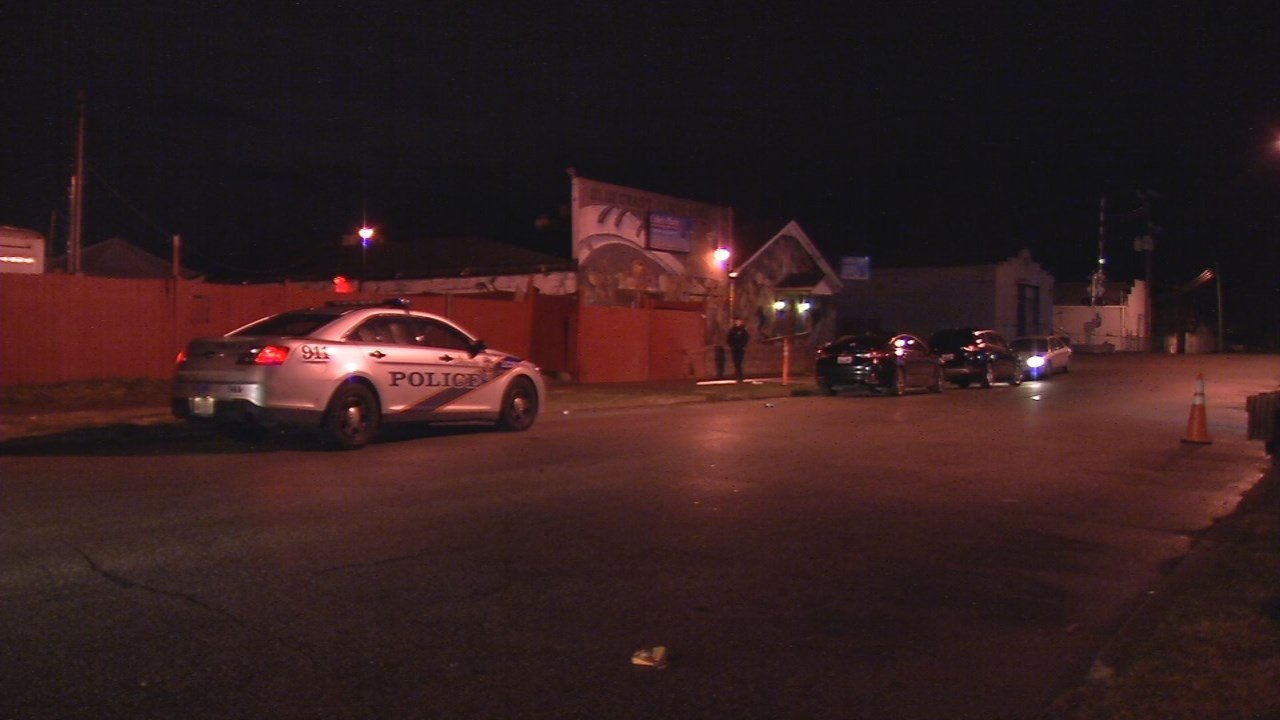 LMPD spokesperson Dwight Mitchell said officerswere called to Cole's Place on West Kentucky Street in the Parkland neighborhood on Saturday around 3 a.m. on a report of a shooting.