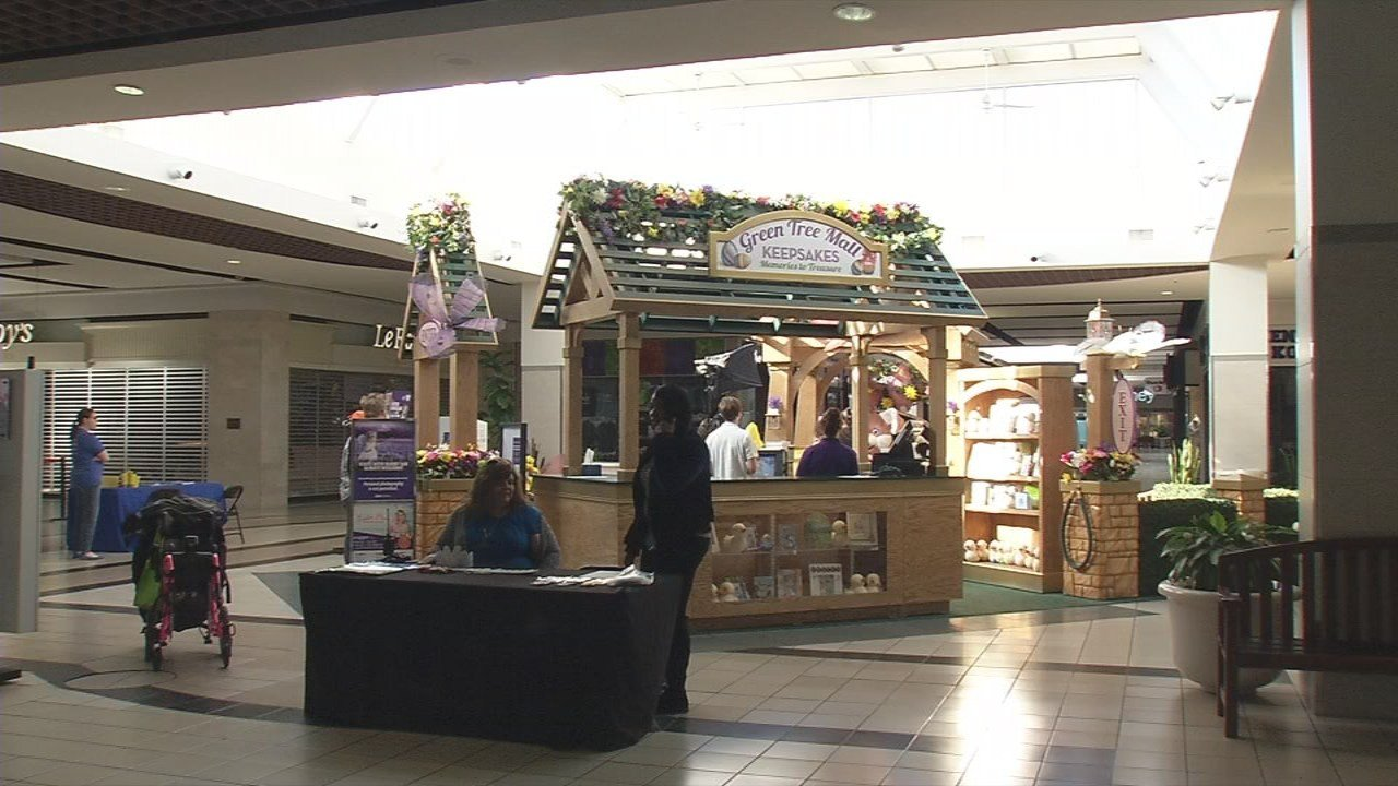 The sensory-friendly event took place Sunday morning before the mall opened for regular business hours.