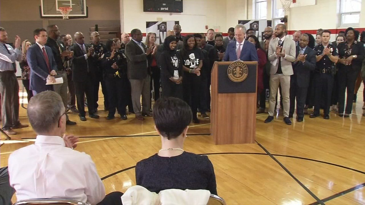 A rally was held with local dignitaries including Mayor Greg Fischer to kick-off National Youth Prevention Week.
