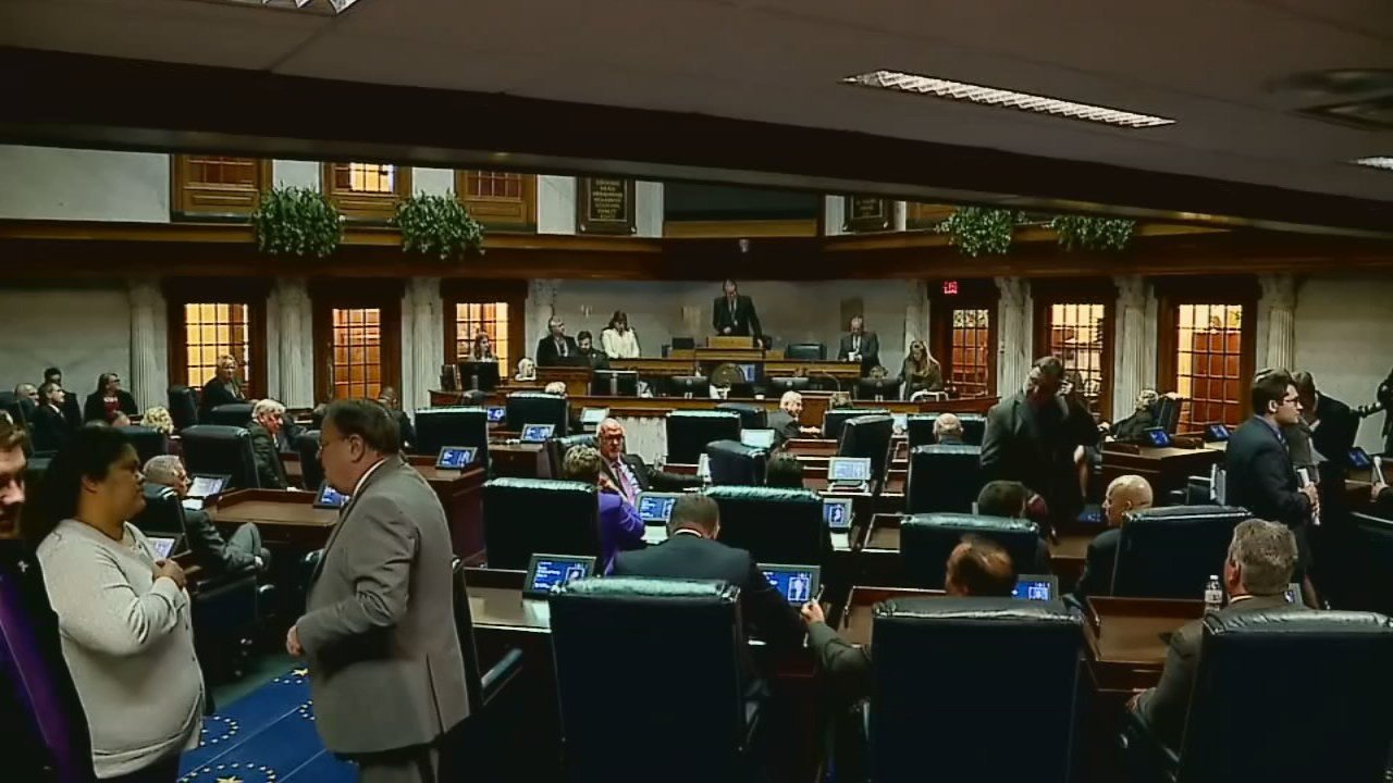 Indiana lawmakers didn't get all their work done, so the governor is calling for a special session.