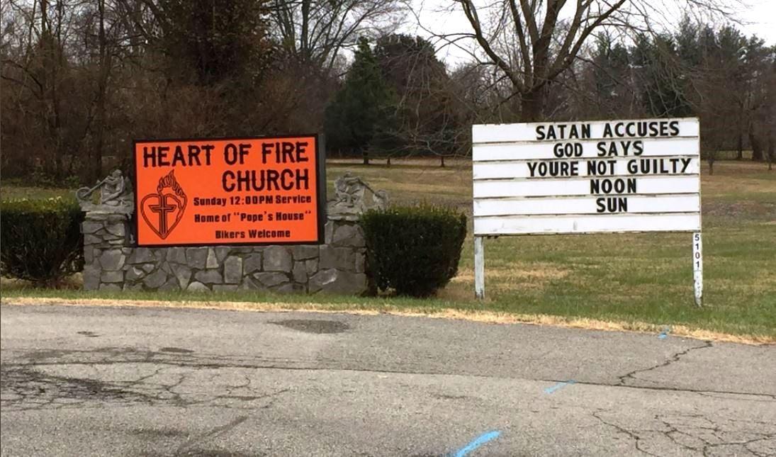 Heart of Fire church, 5101 Bardstown Road