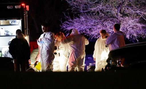 Austin bombing suspect identified by law enforcement official  The 24-year-old man reportedly blew himself in his vehicle as a SWAT team closed in on him.  AUSTIN, Texas (AP) -- Law enforcement official tells the AP the dead Austin bombing suspect was Mar