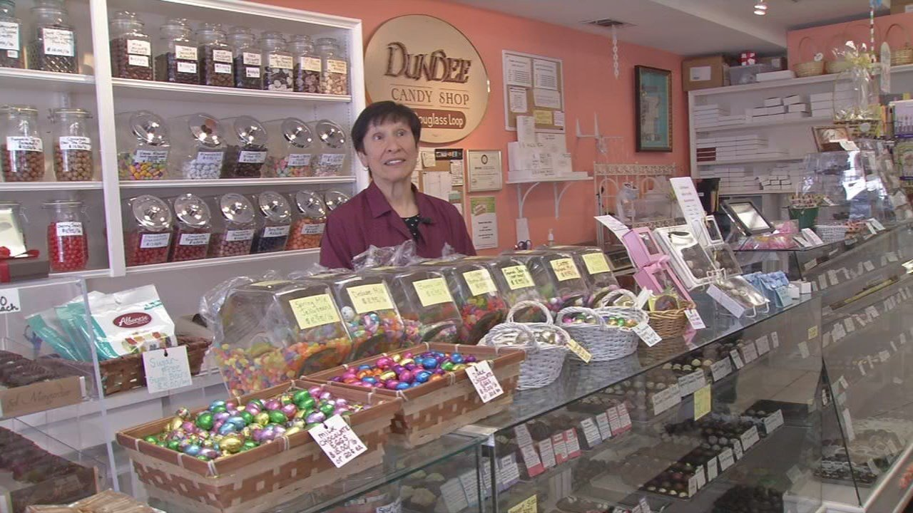 Owner Maria Moore said four generations of Louisvillians have come through the doors of Dundee Candy Shop.