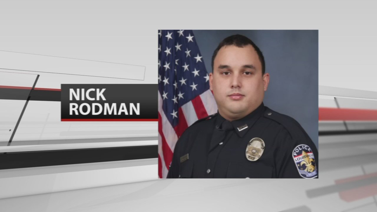 The donation had special meaning to LMPD and the center, because it honored fallen officer Nick Rodman.