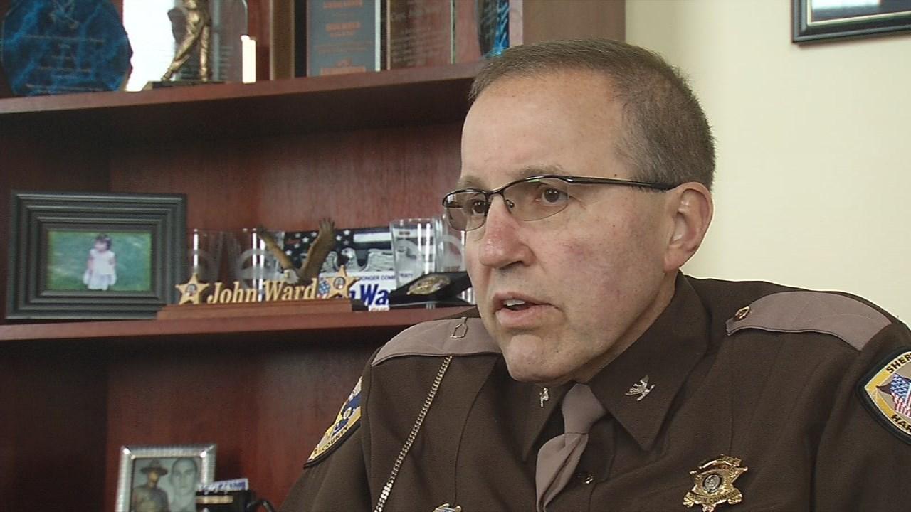 Hardin County Sheriff John Ward