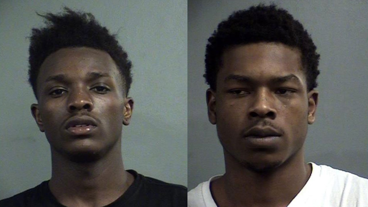 Dominique Taylor and Antwan Toogood (Source: Louisville Metro Corrections)