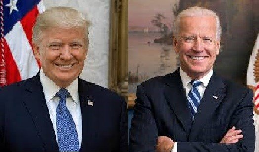 President Donald Trump and former Vice President Joe Biden trade fighting words over who would win a fight.