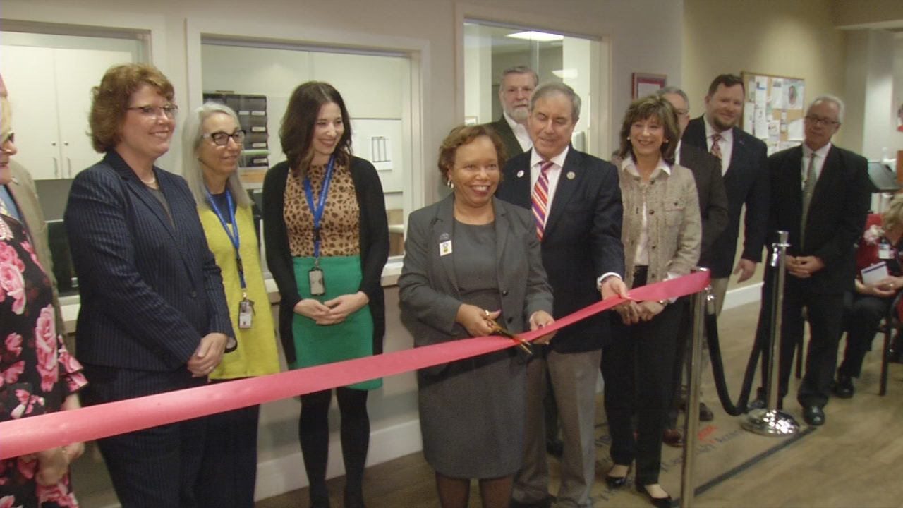 The Newburg VA Clinic cut the ribbon Friday on new facilities for women and for geriatric veterans