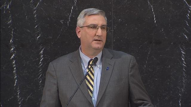 Indiana Governor Eric Holcomb (WDRB file photo)