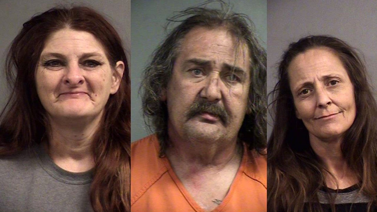 Kathy Woosley, Melvin Haycraft and Tracy Branch (Source: Louisville Metro Corrections)