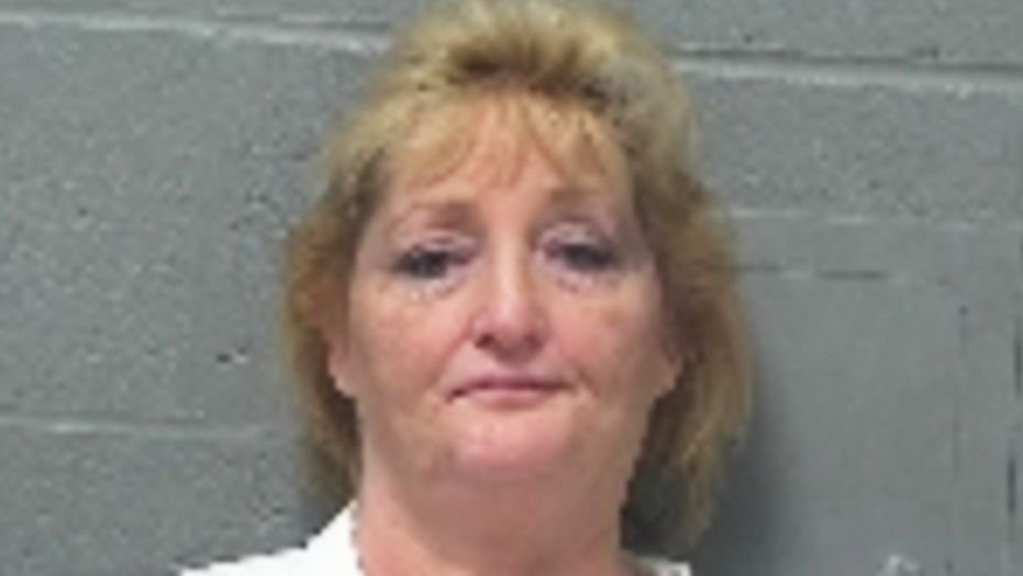 54-year-old Ladonna Hughett was charged with making lewd comments to Easter Bunny.