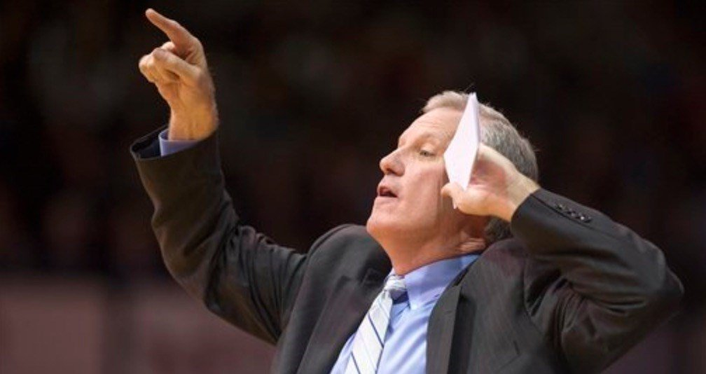 Former Evansville coach Jim Crews is the guy who recruited Chris Mack out of St. Xavier High School in Cincinnati. (AP Photo)