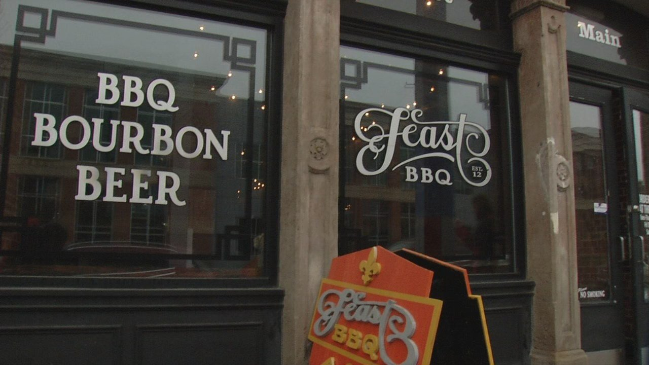 Two of New Albany's best known eateries are shutting down.  The popular Comfy Cow and Feast BBQ are leaving town Wednesday.