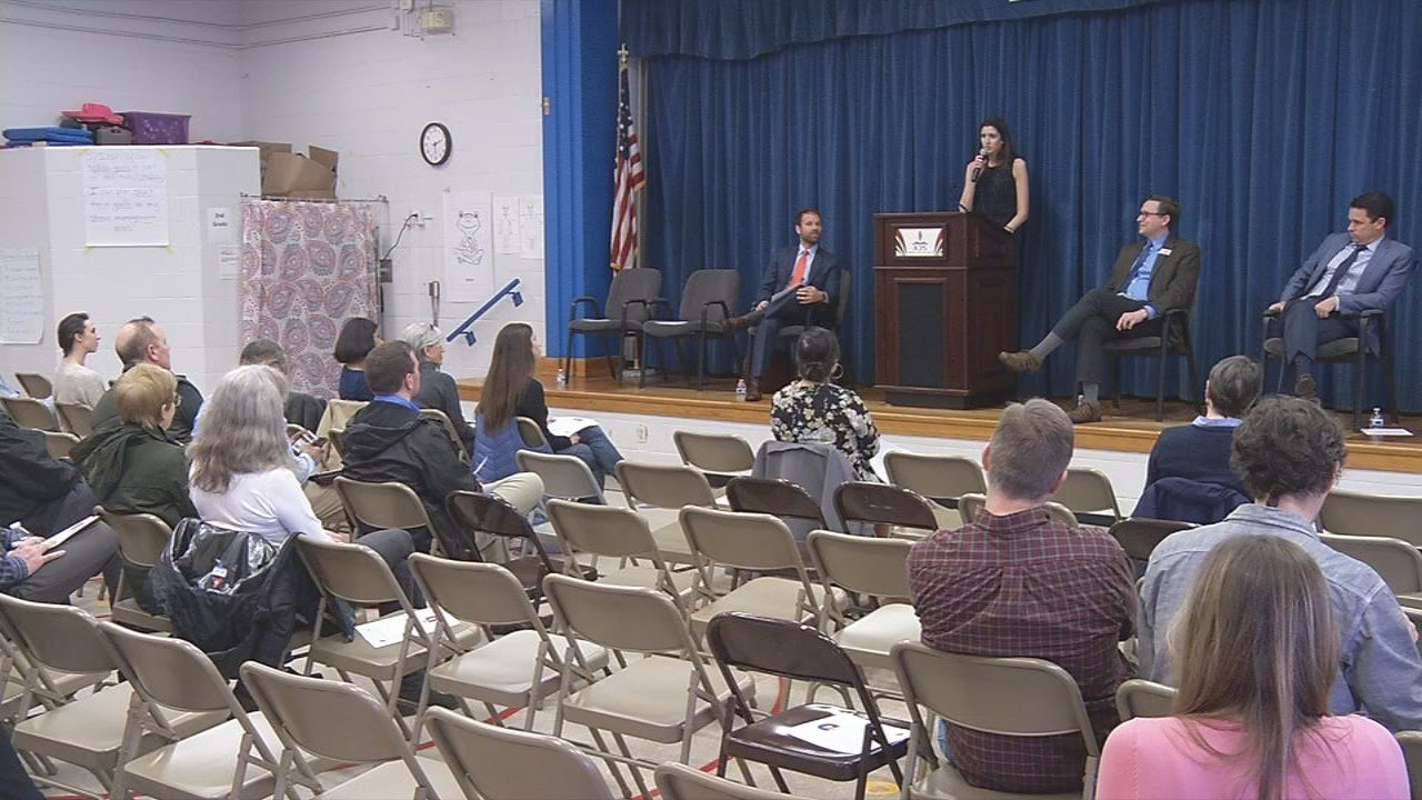Wednesday was the first of eight community meetings at schools in the Highlands to bring city government and schools closer together.