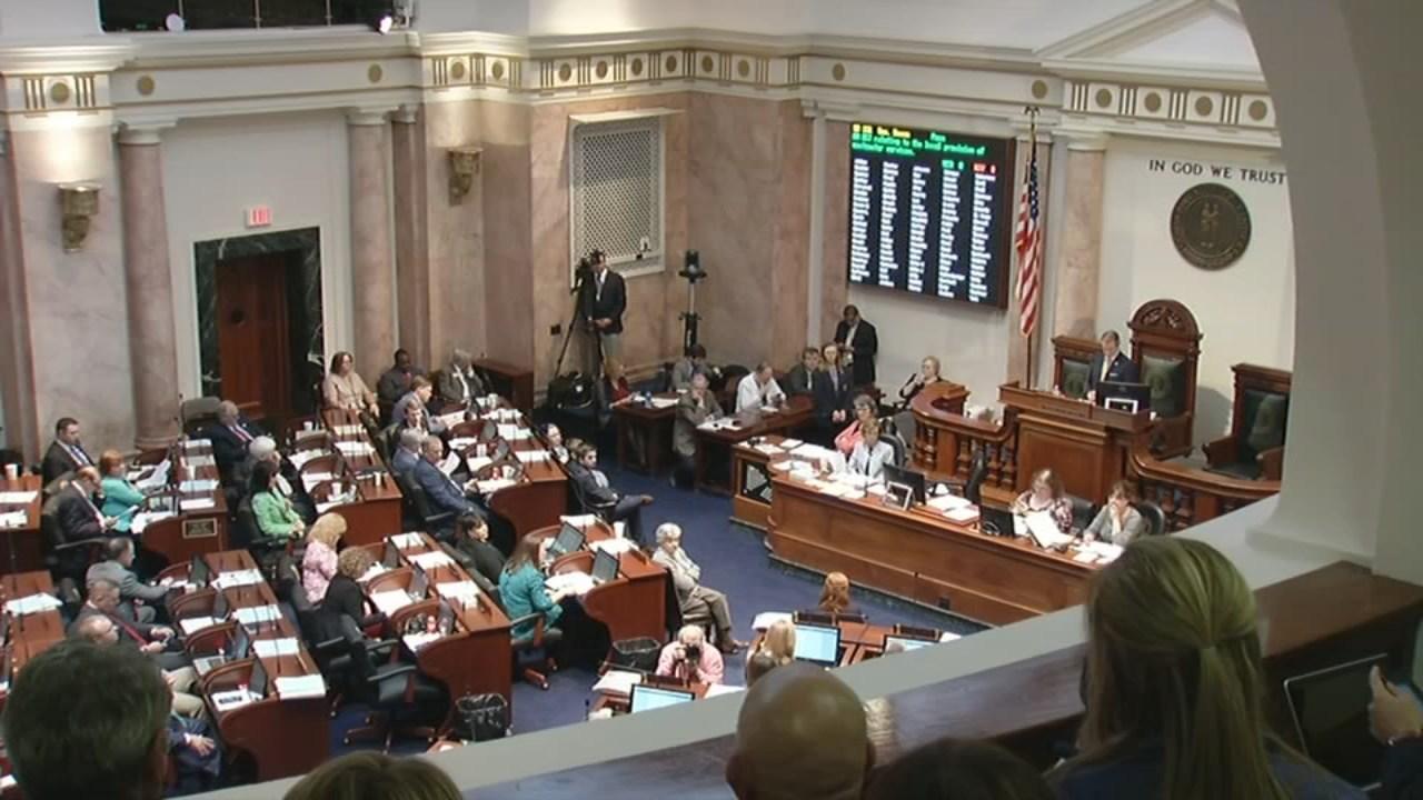 Teachers Storm Capitol Protesting Pension Bill