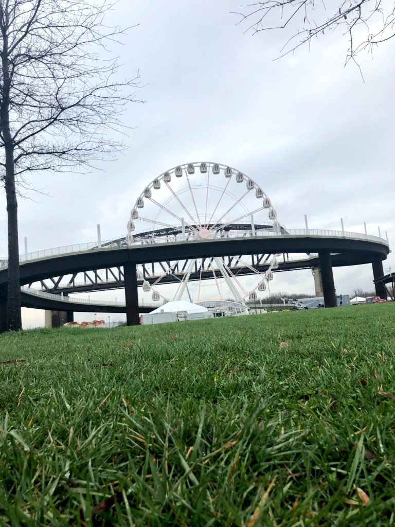 The SkyStar will be on the waterfront  until the day after the Kentucky Derby.