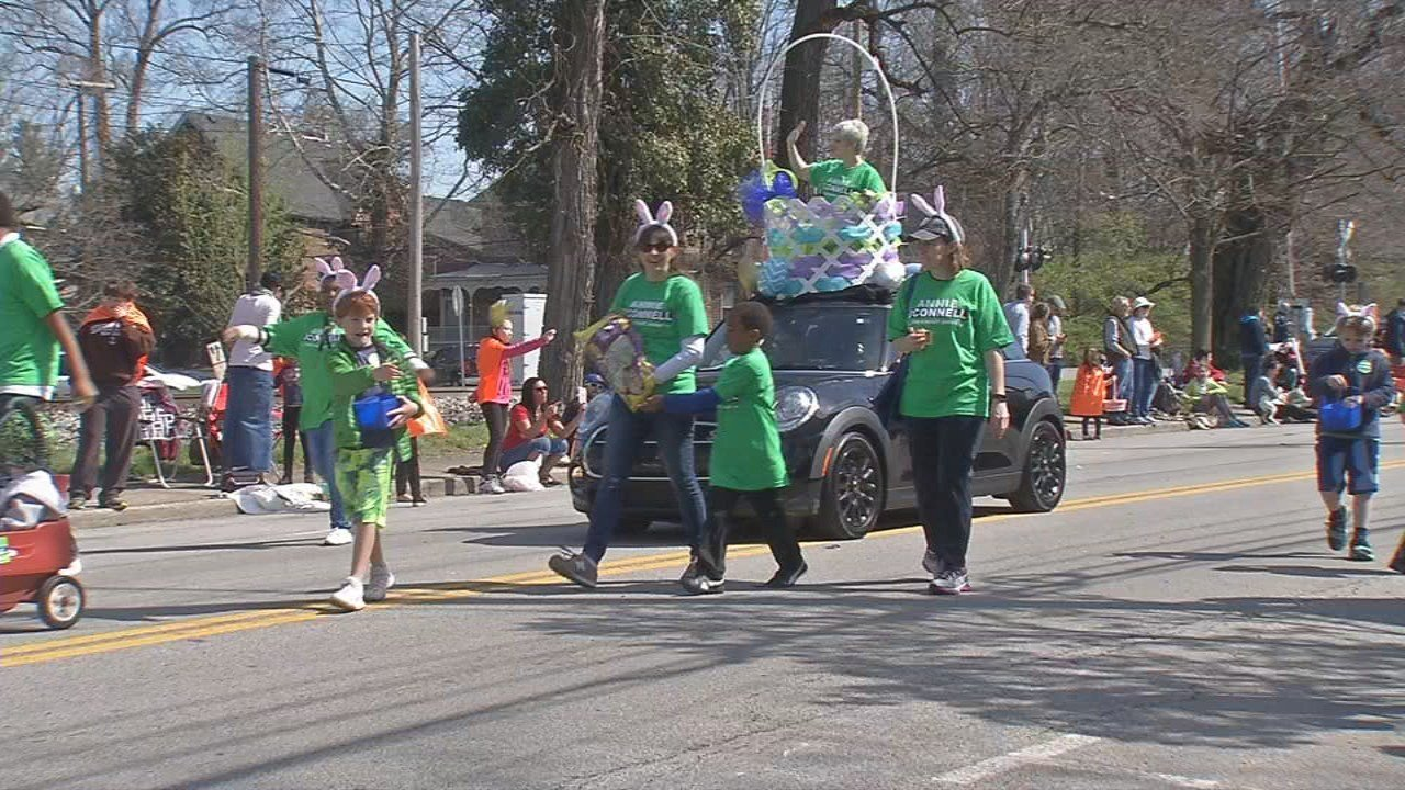 The annual Easter Parade is put on every year by the Frankfort Avenue Business Association.