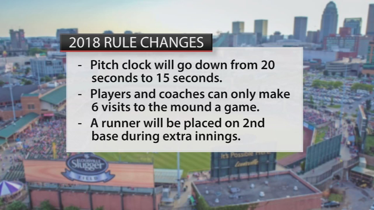 Changes are going into place for the Louisville Bats 2018 season.