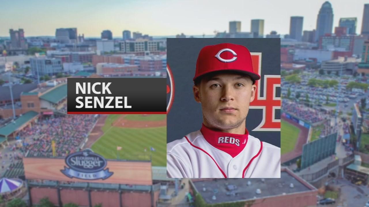 Louisville Bats Nick Sinzel