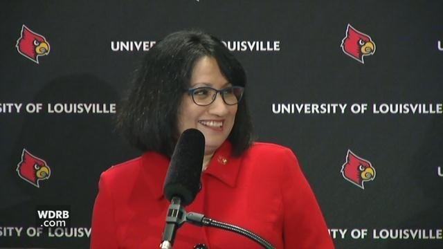 Nelli Bendapudi will start May 15, 2018 as U of L president.