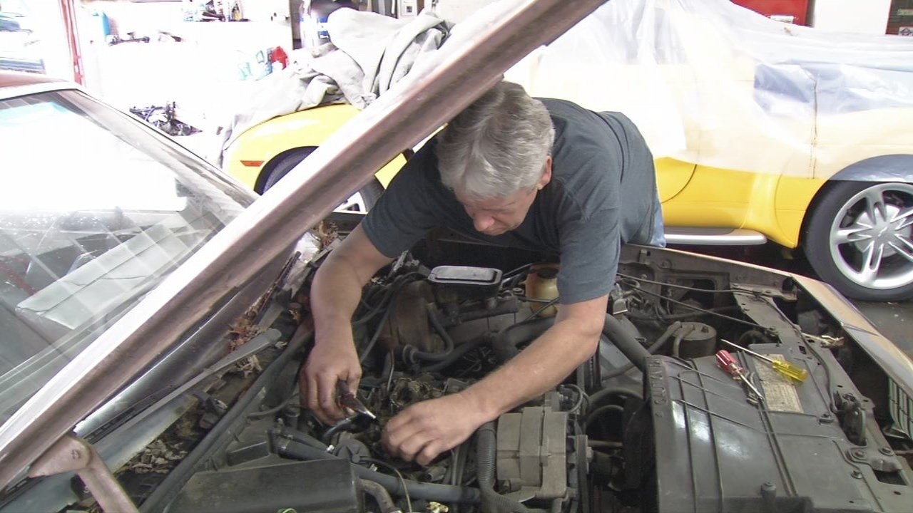 Andrew Johnson, who has been fixing cars since he has 11 years old, said he enjoys what he does but would not enjoy charging more for his services.