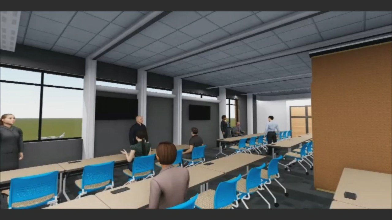 Some of the upgrades include the addition of three private study rooms, an expanded teen and young adult area, more computers and new furniture.