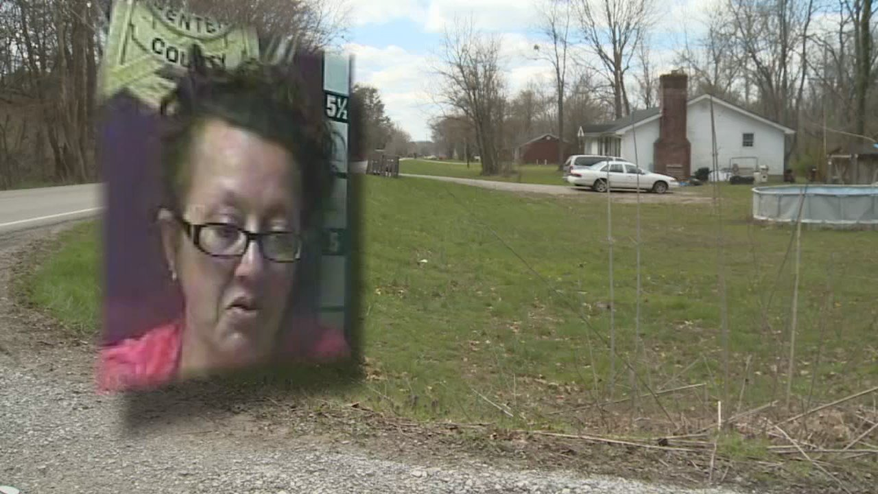 Tonya Hensley was arrested at a home in Madison County, Ky. on April 3, 2018. Photo courtesy WKYT.