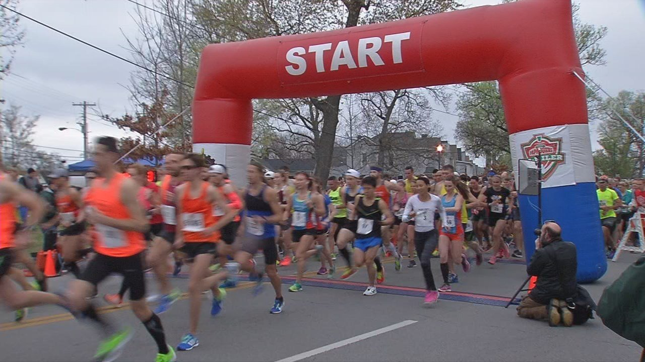 Organizers are keeping an eye on the weather this weekend for the Papa John's 10 Miler.
