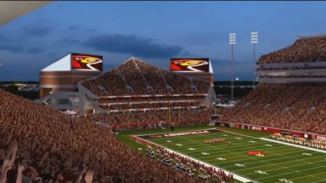 Renovations at Papa John's Cardinal Stadium are on schedule to be finished by Sept. 8, 2018.