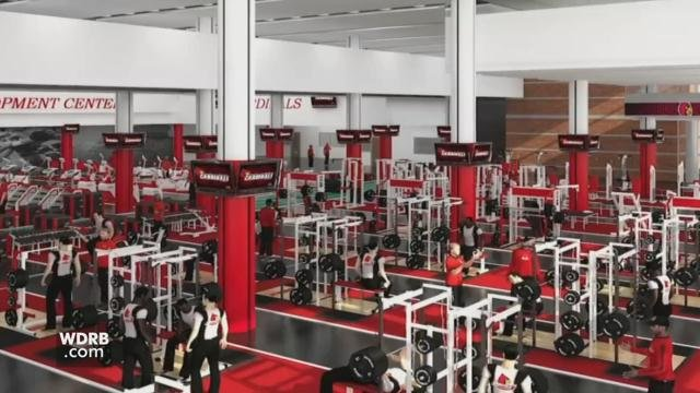 The Schnellenberger Football complex is expanding from 30,000 to 100,000 square feet.