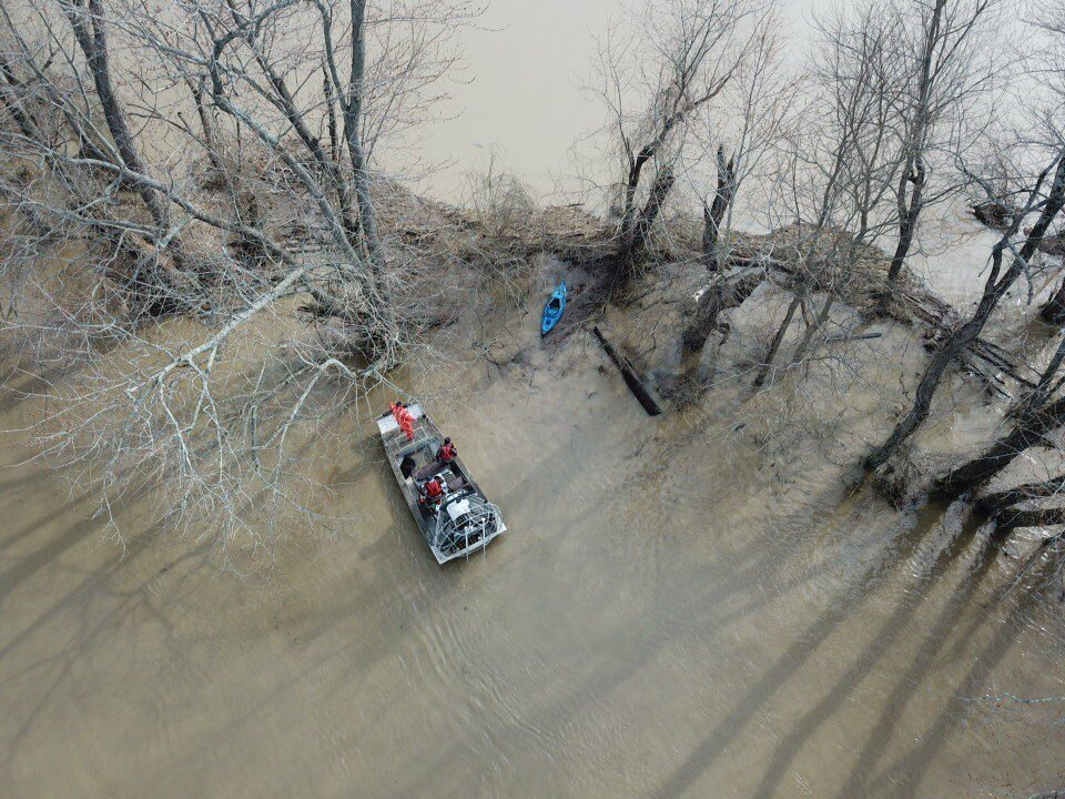 Indiana Conservation Officers and the Bartholomew County Sheriff's Office say Keygan Matlock may have gone kayaking in the floodwaters near Columbus, Indiana.