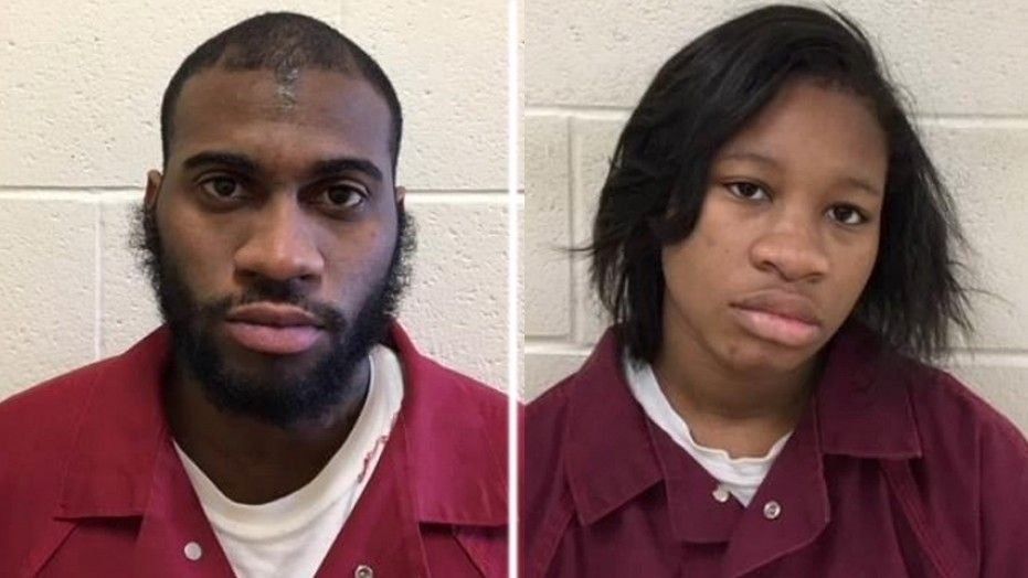 Keiff King, 26, (left) and Lisa Smith, 19, (right) have been charged with first degree murder in the death of Smith's 4-year-old son. (Image Source: Fox News/Montgomery County District Attorney's Office)
